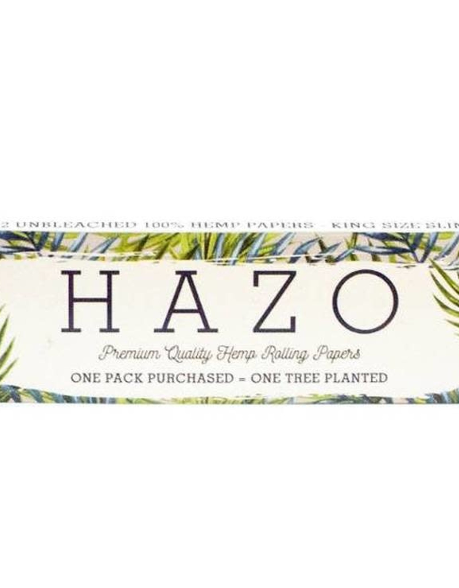 Hazo King Size Slim Papers - Hemp