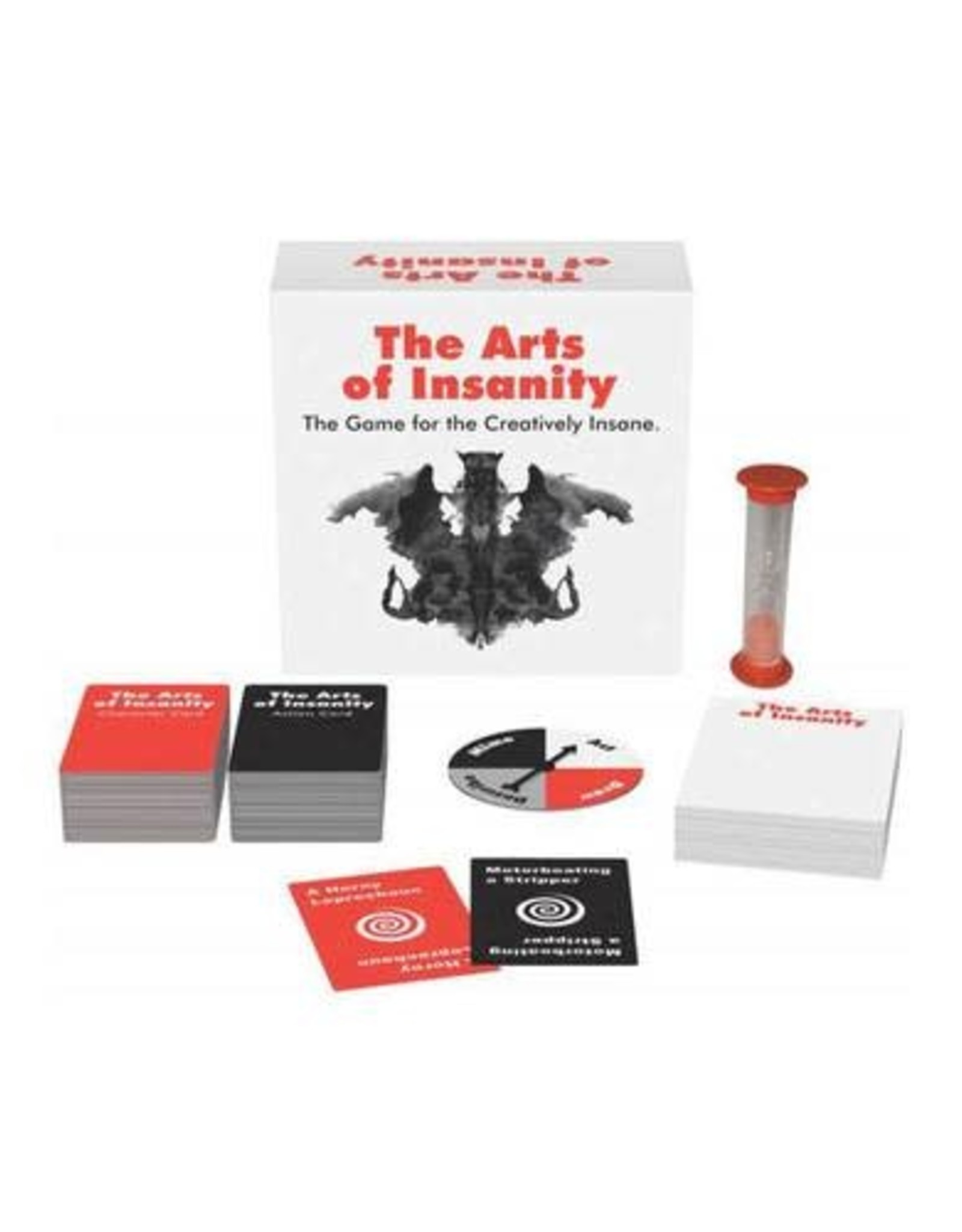 Arts of Insanity: The Game for the Creatively Insane