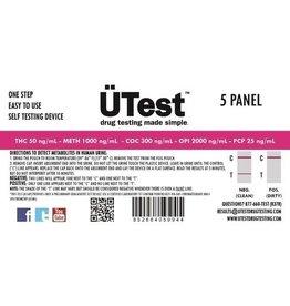 UTest 5 Panel Test Strips