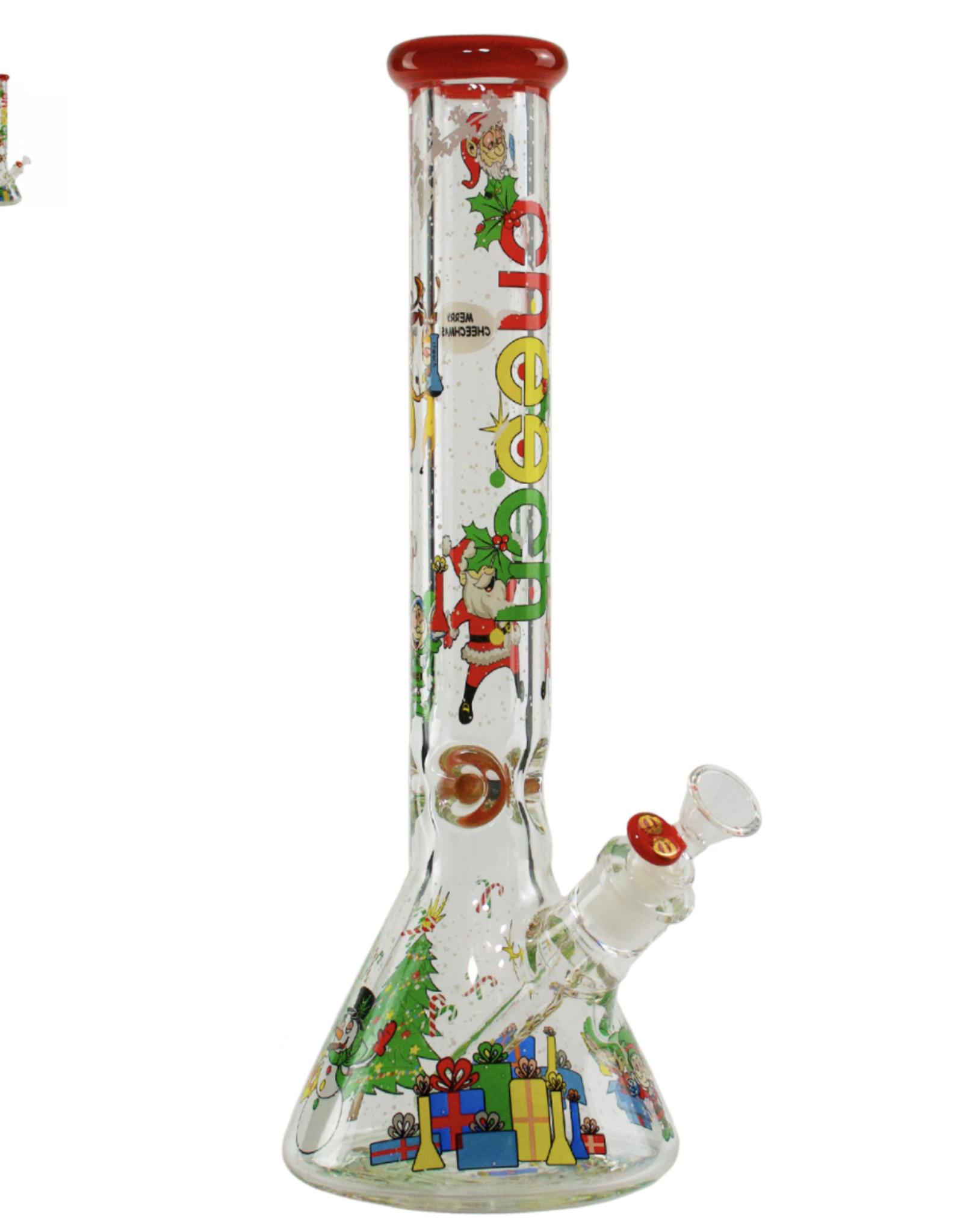 "Cheech CA-035 - 14"" Christmas Beaker"