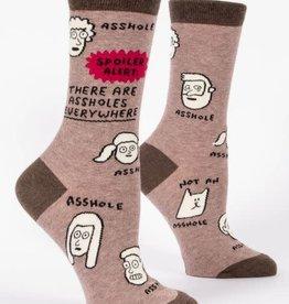 Assholes Everywhere Crew Socks
