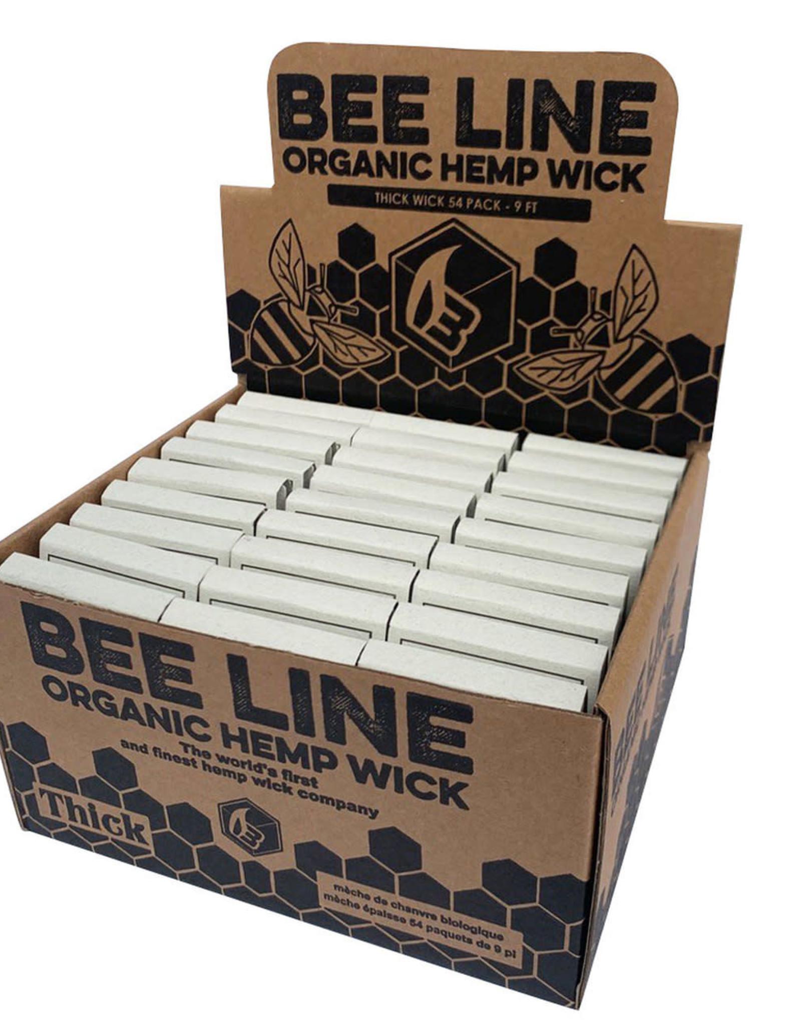 Bee Line Hemp Wick - Thick