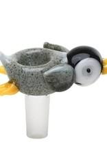 14mm Male Penguin Paulie Bowl by Empire Glassworks