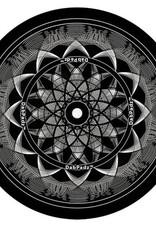 "5"" Black Lotus Dab Mat by DabPadz"