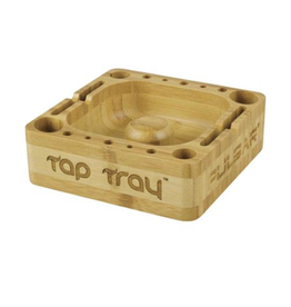 """5"""" Square Bamboo Tap Tray by Pulsar"""