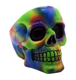 Tye Dye Skull Ashtray