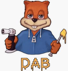 Squirrel Dab Sticker