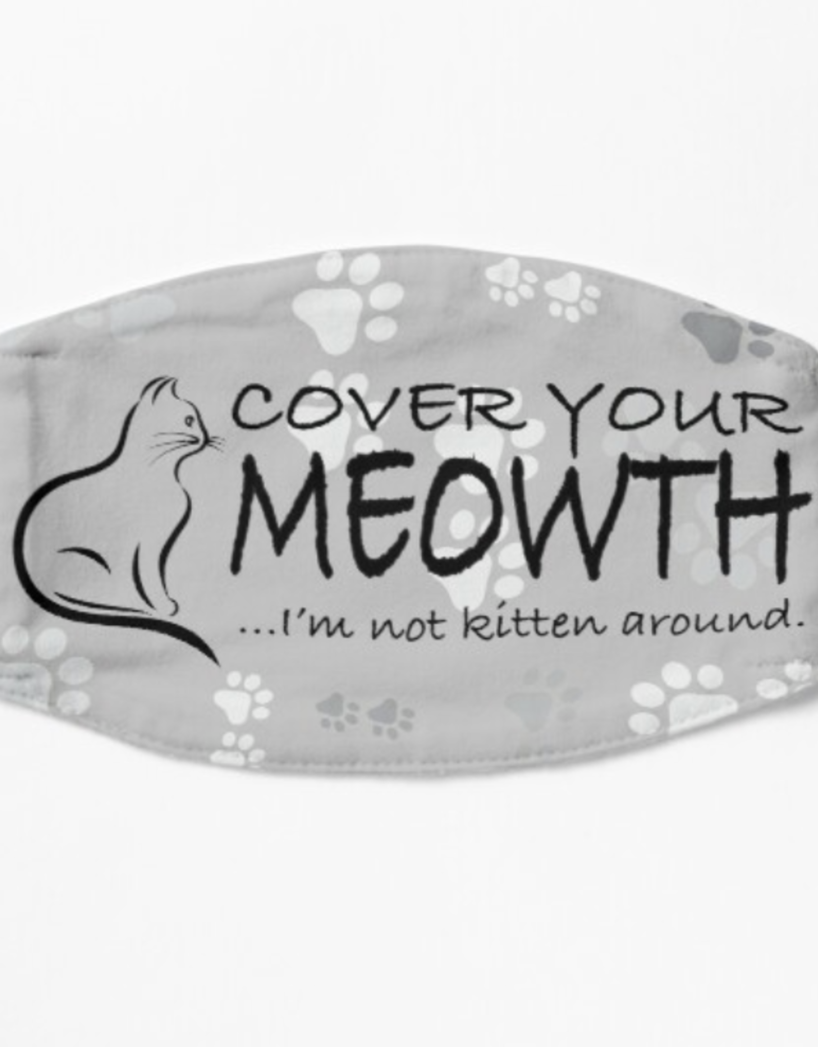 Cover Your Meowth Mask