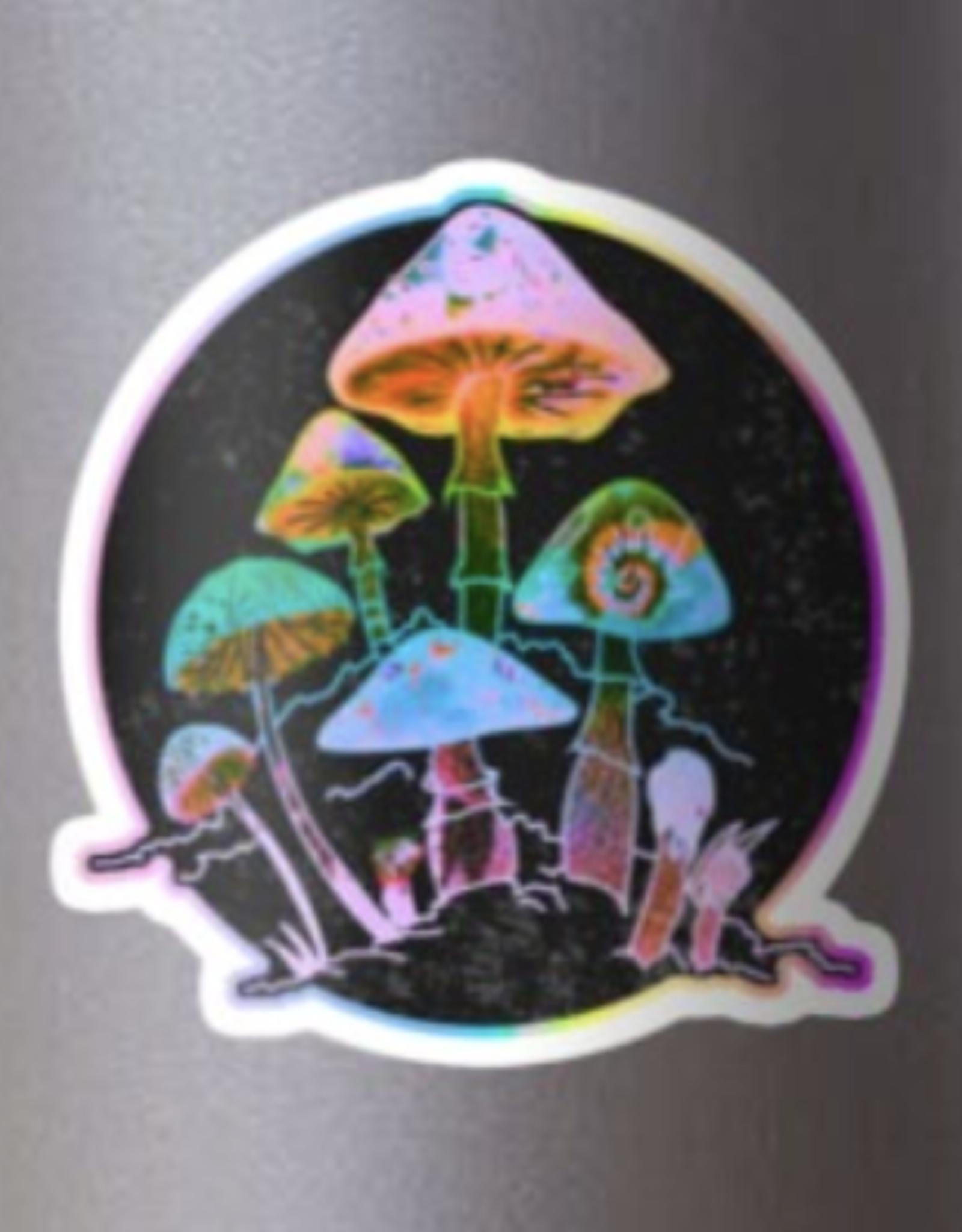 Garden of Shrooms Sticker