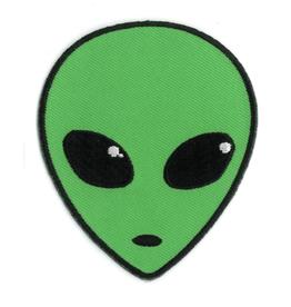 Alien Head Patch
