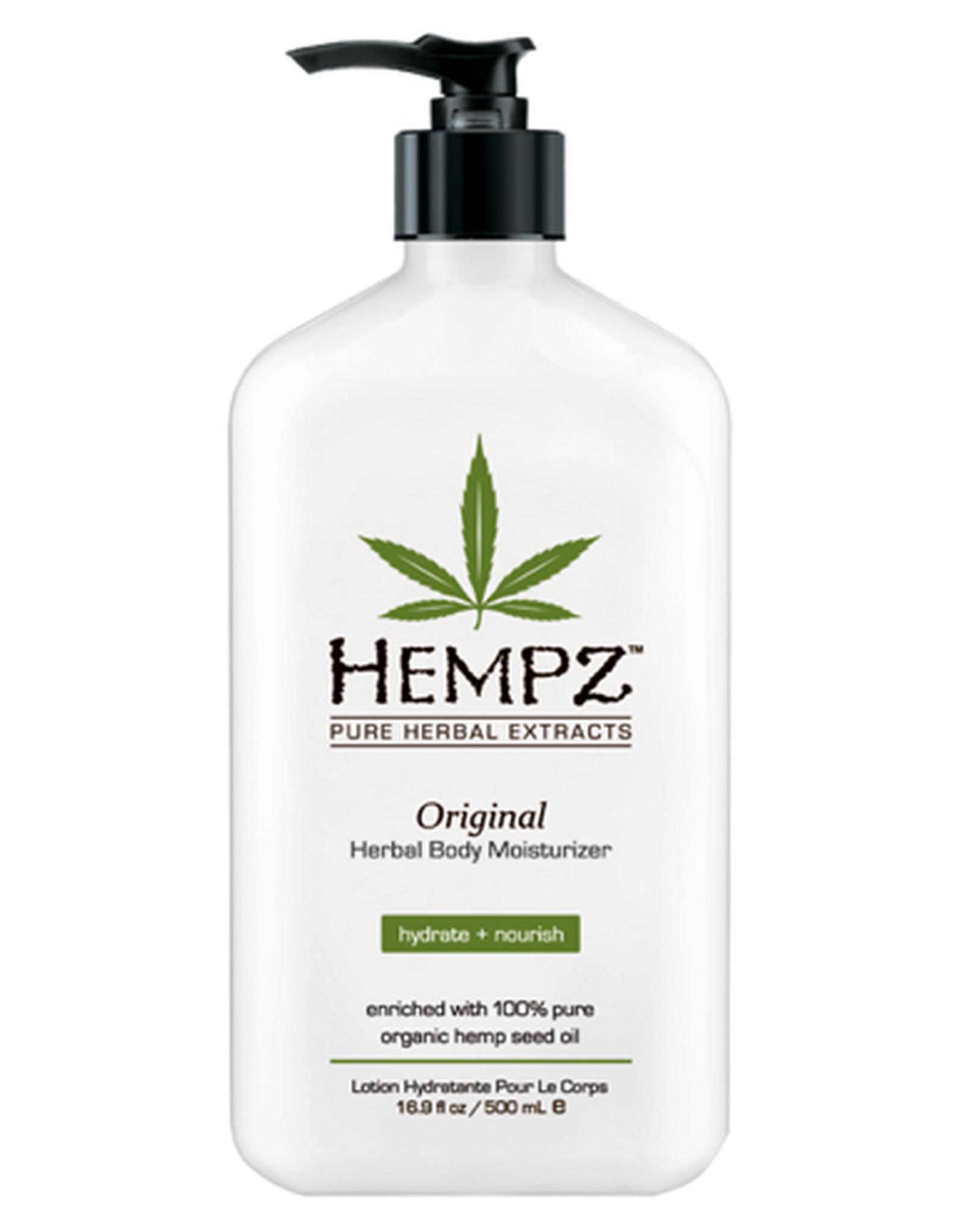 Hempz Original Moisturizer 17 oz