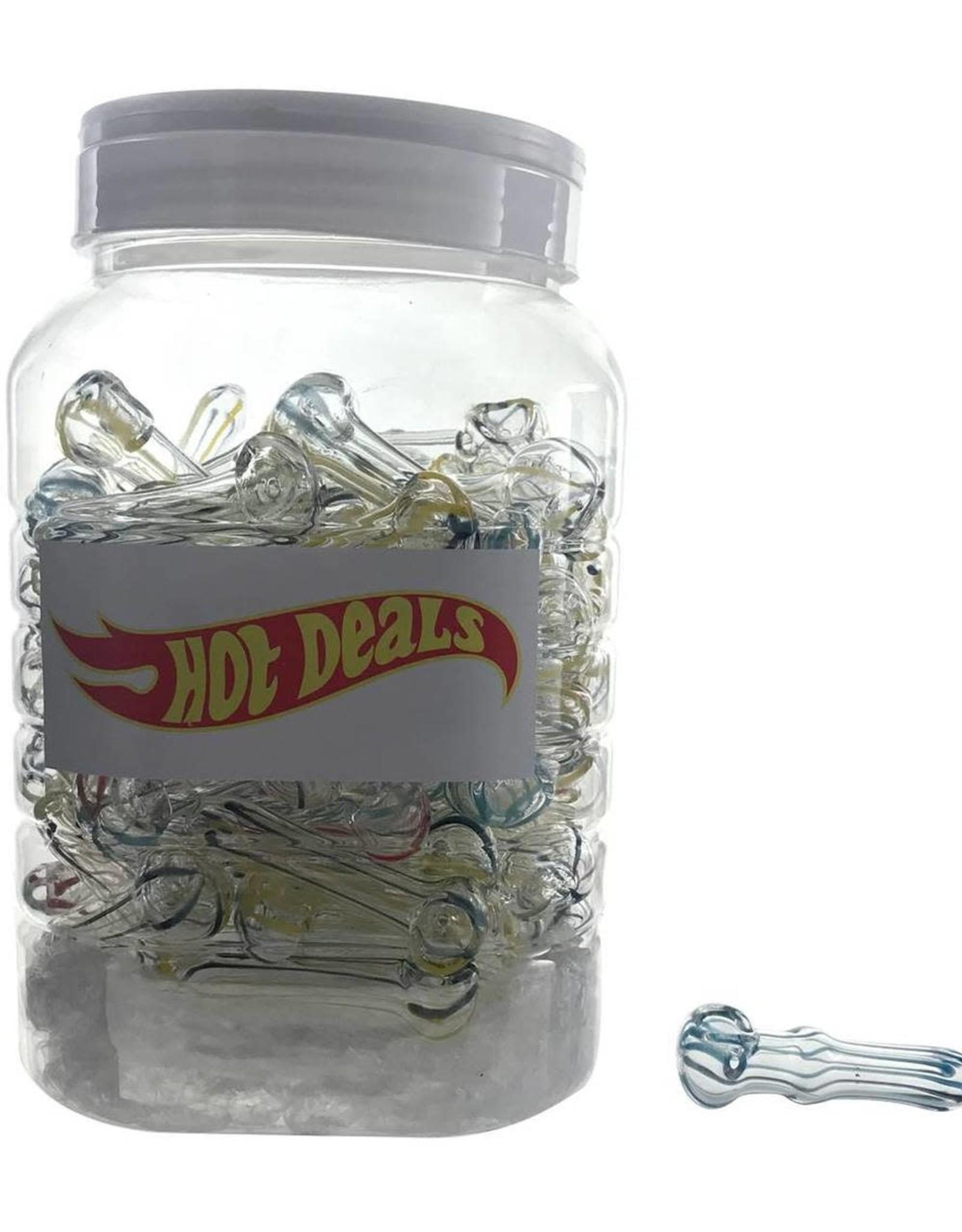 "Hot Deals - 2.5"" Inside Out Spoon w/ Stripes"