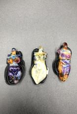 Goddess Pendant by Glasea