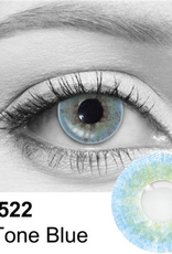 2 Tone Blue Contact Lenses