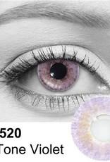 2 Tone Violet Contact Lenses