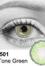 3 Tone Green Contact Lenses