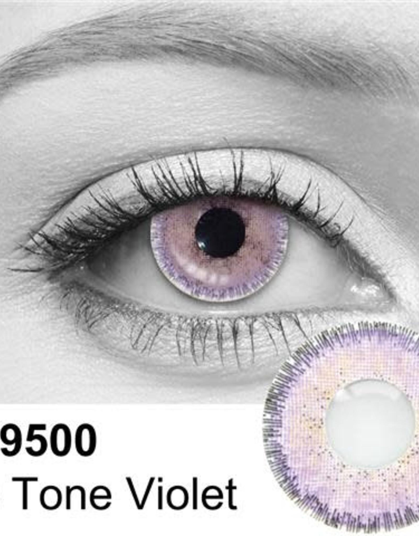 3 Tone Violet Contact Lenses