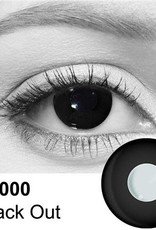 Black Out Contact Lenses