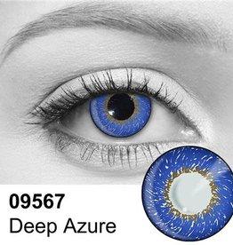 Deep Azure Contact Lenses