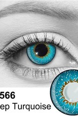 Deep Turquoise Contact Lenses