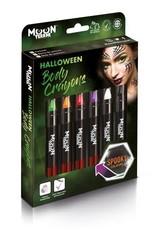 Halloween Face & Body Crayons Boxset - 6 crayons