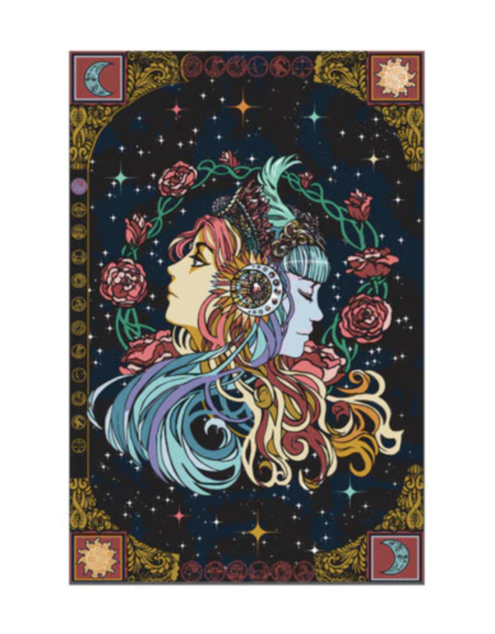 "60"" x 90"" 3D Tapestry - Celestial Zodiak"