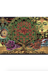 "60"" x 90"" 3D Tapestry - Flower of Life"