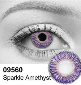 Sparkle Amethyst Contact Lenses