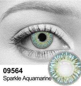 Sparkle Aquamarine Contact Lenses