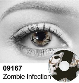 Zombie Infection Contact Lenses