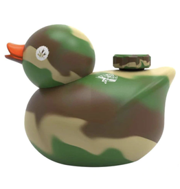 Kwack Camo Silicone Duck by Peace Maker