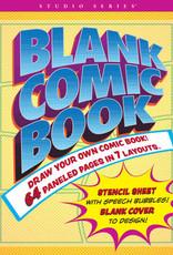 Blank Comic Book (Stencil included)