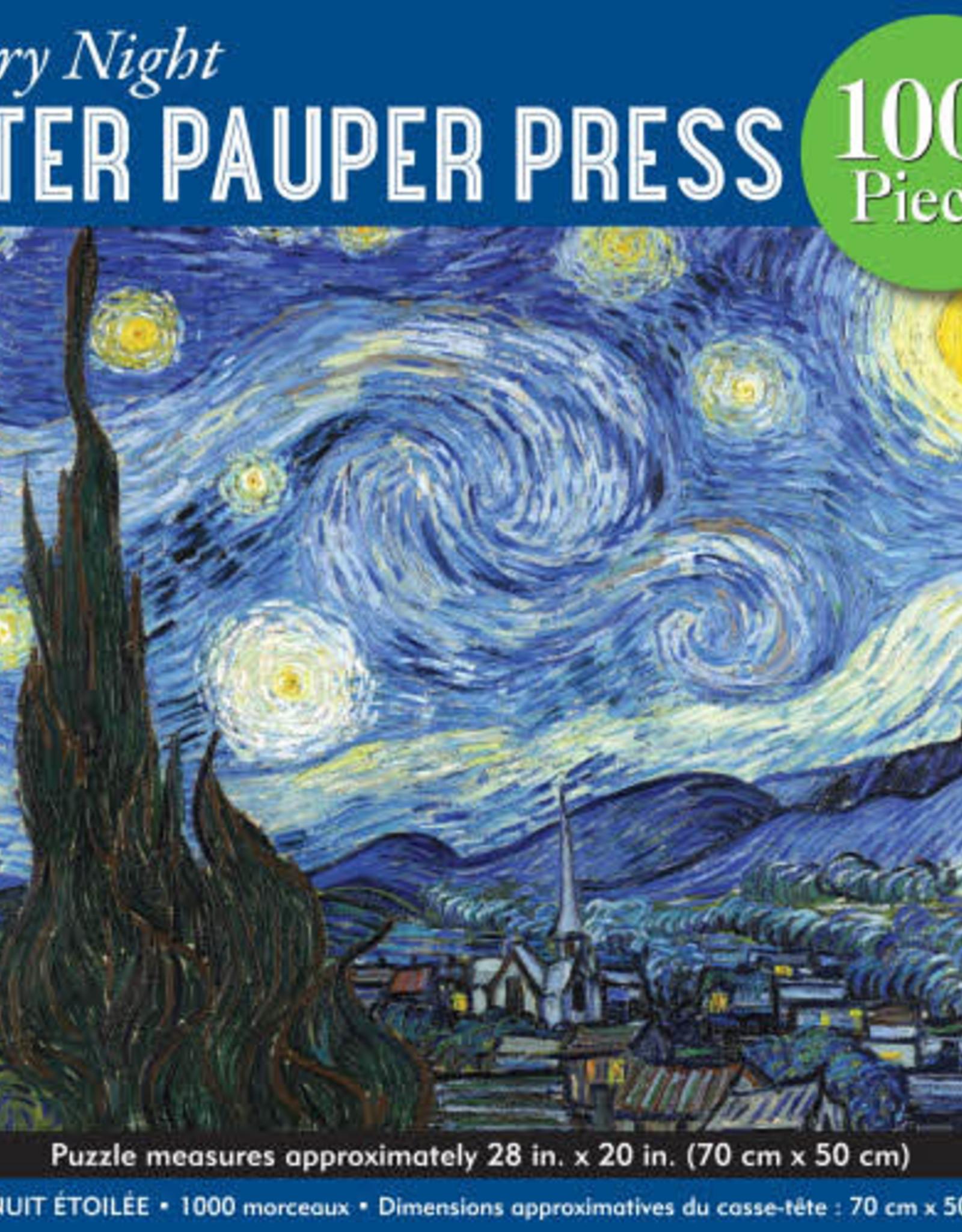 Starry Night Puzzle - 1000 Piece