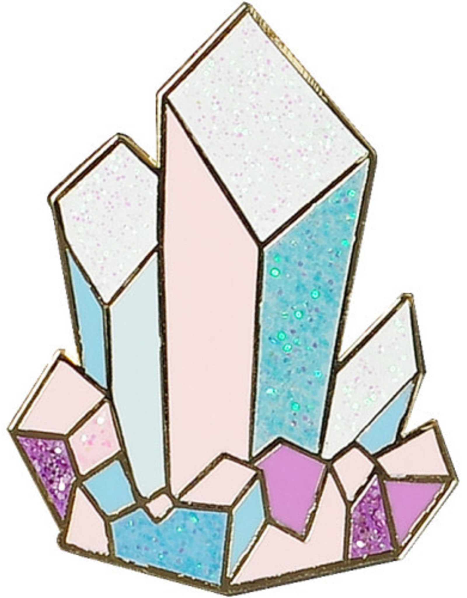 Enamel Pin - Crystals