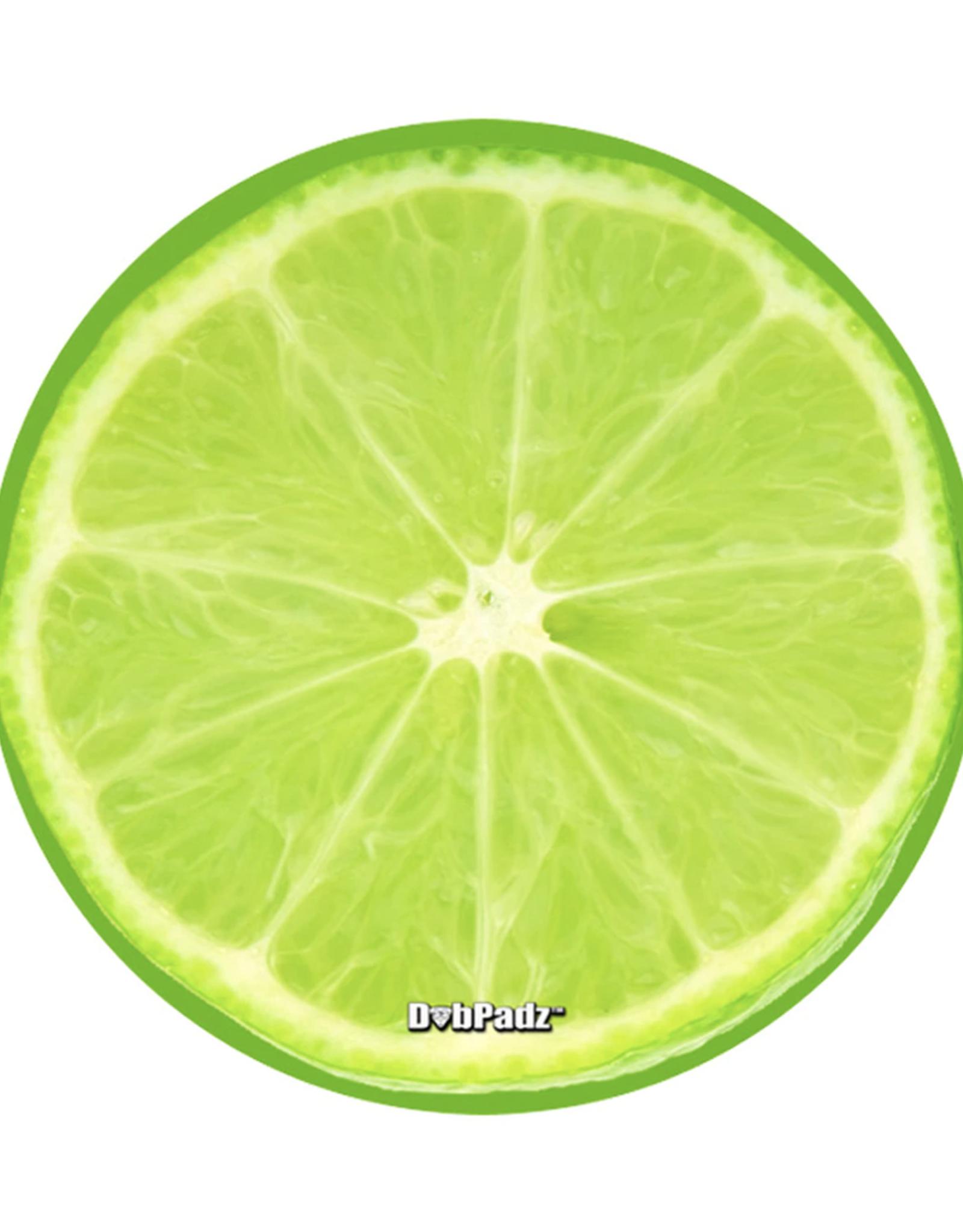 "5"" Lime Dab Mat by DabPadz"