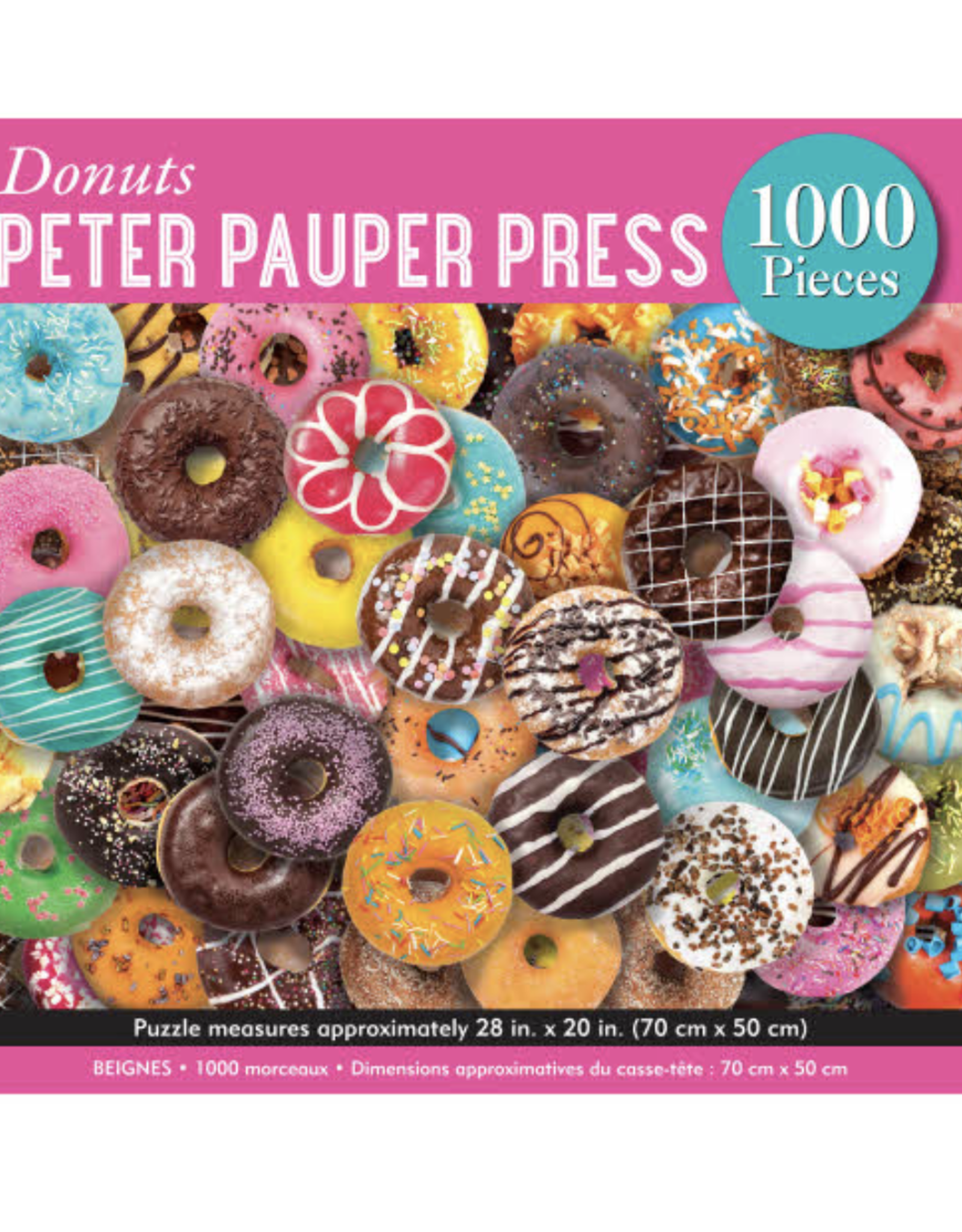 Donuts Puzzle - 1000 Piece