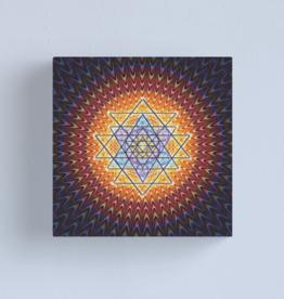 Cosmic Chakra Yantra (12) Canvas - Medium