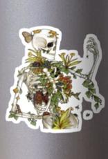 Bones and Botany Sticker