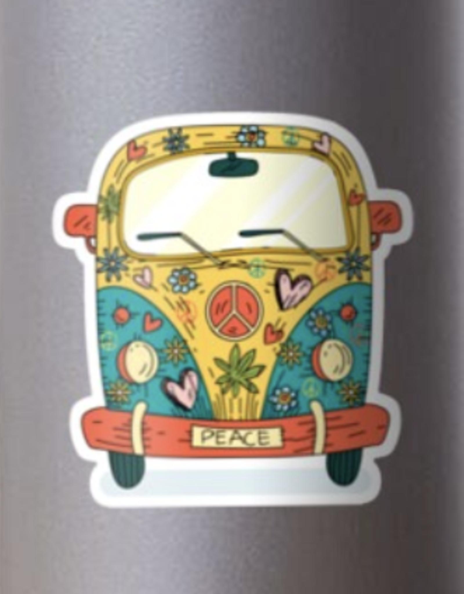The Hippie Van Sticker