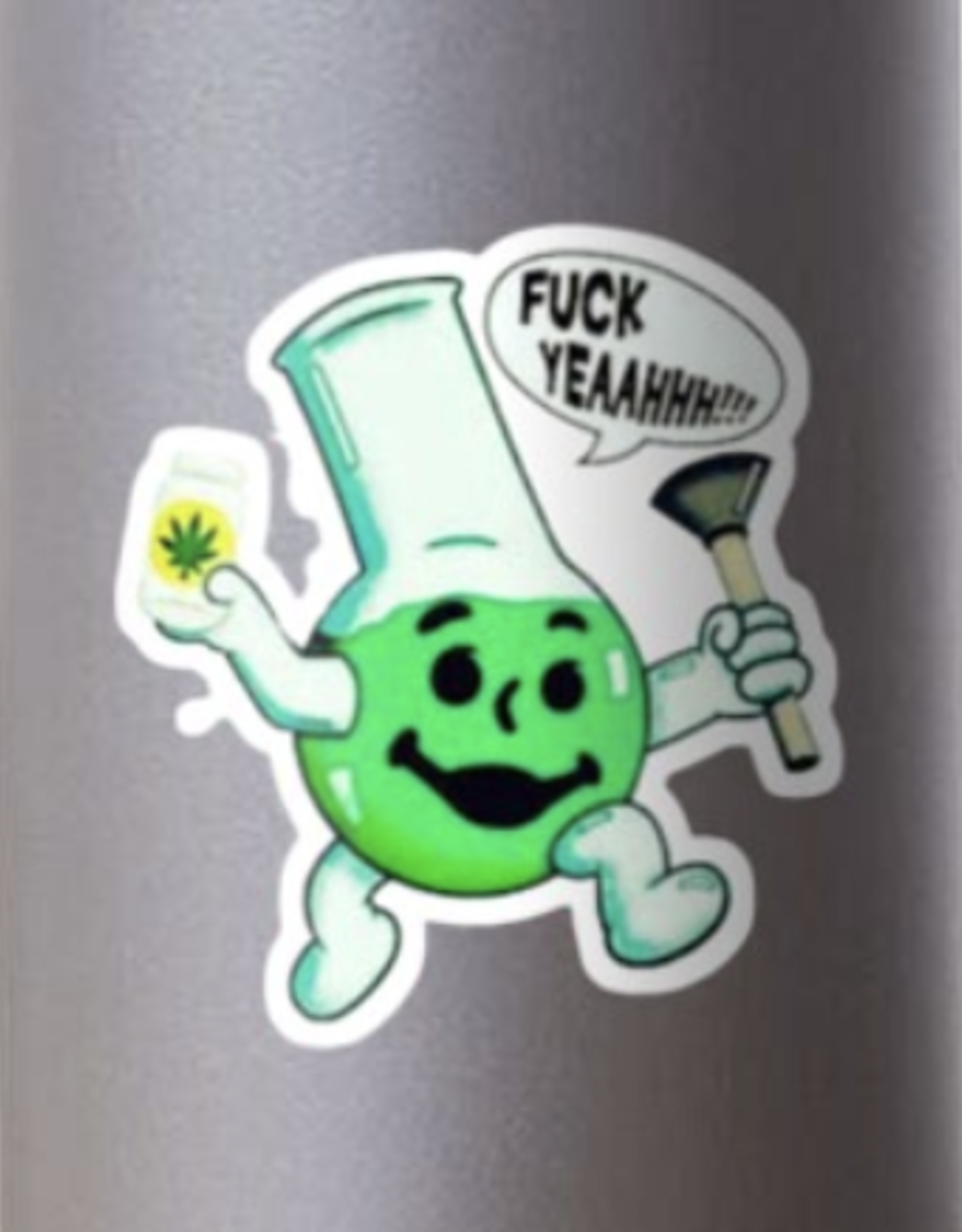 Bong Man Sticker