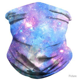 Purple Nebula Neck Gaiter