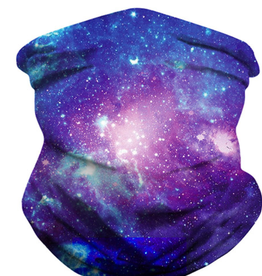 Purple Galaxy Neck Gaiter