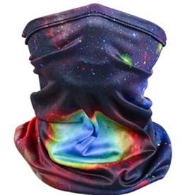 Multi Colored Stars Neck Gaiter