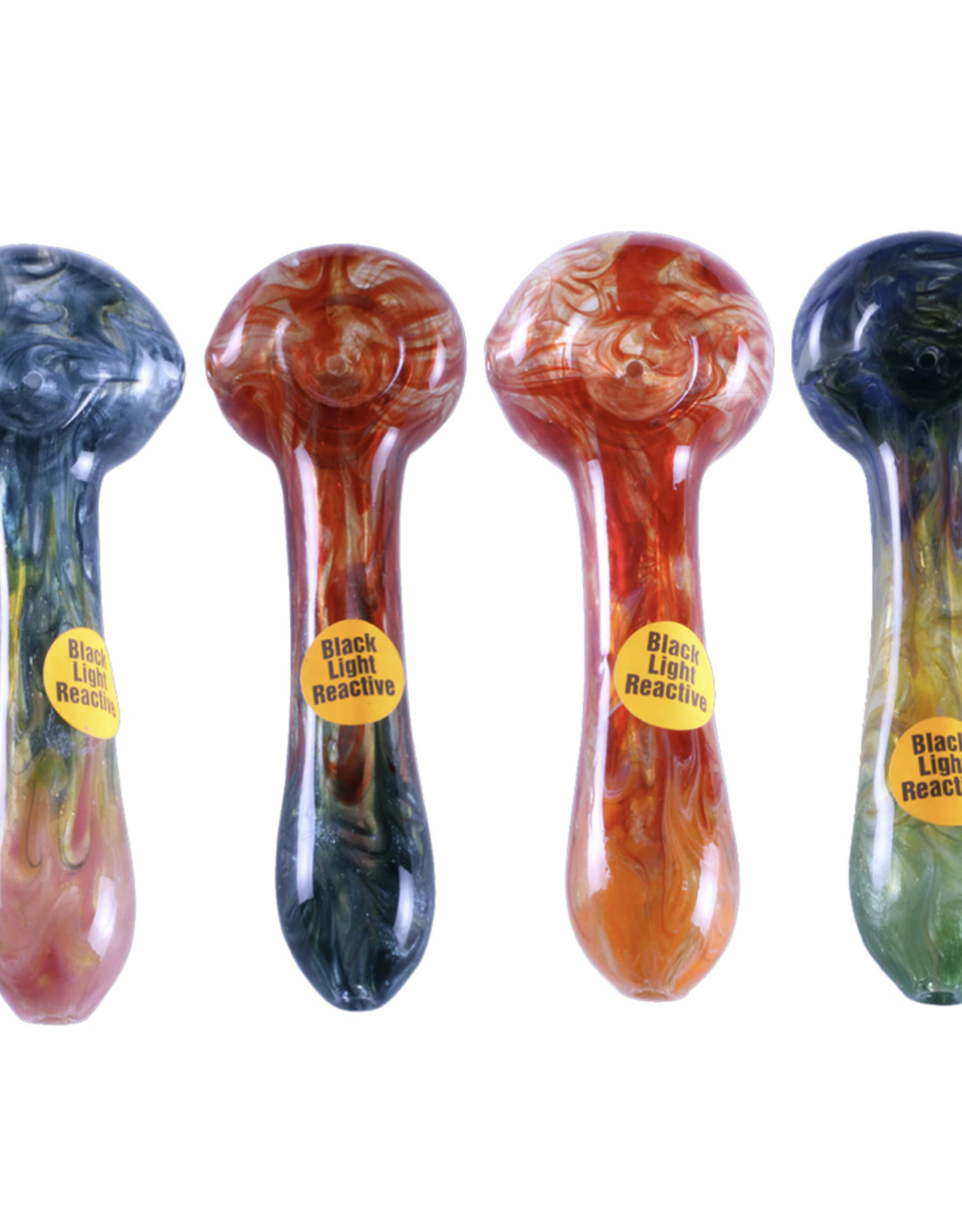 Sparkle Marbleized Pipe w/ Illuminati by Chameleon Glass