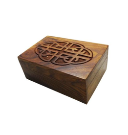 """6"""" x 4"""" Carved Box"""
