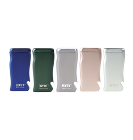 Ryot RYOT Aluminum Magnetic Poker Box w/ Bottle Opener & Matching Taster Bat