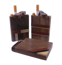 Inlay Dugout Large - Hardwood Smoker's Box