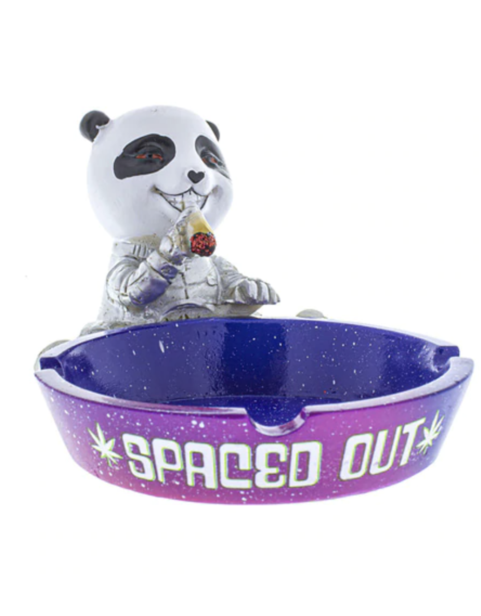 Spaced Out Panda Ashtray