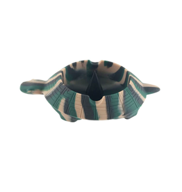 Silicone Turtle Ashtray w/ Debowler Spike