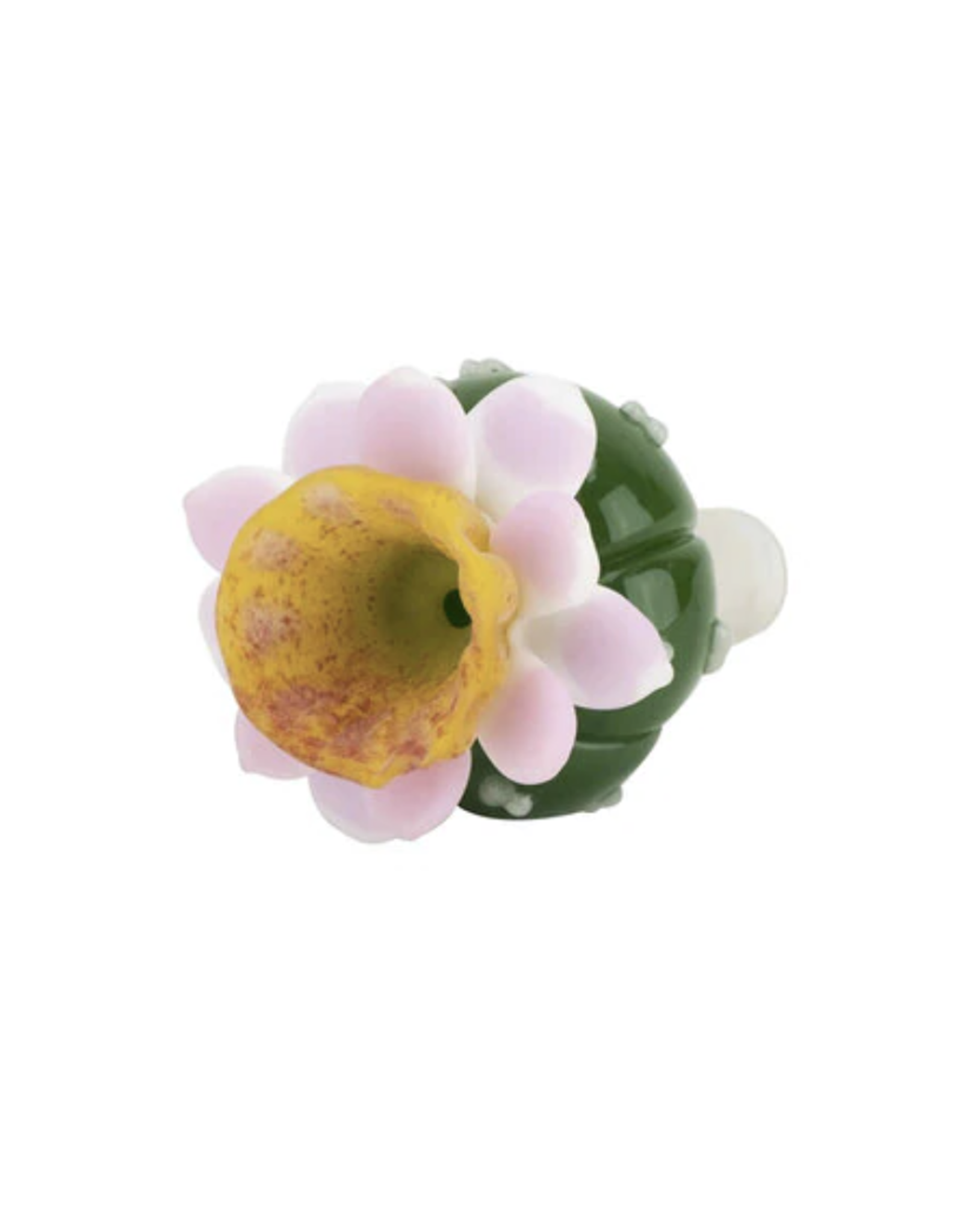 14mm Male Peyote Flower Bowl by Empire Glassworks